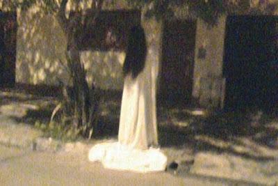 Une dame blanche photographiée en Argentine