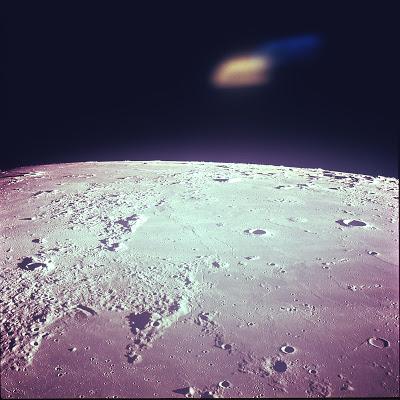 La NASA publie une photo d'OVNI prise par Apollo 12