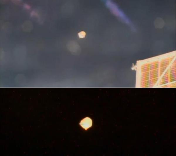 L'OVNI photographié par ISS identifié ?
