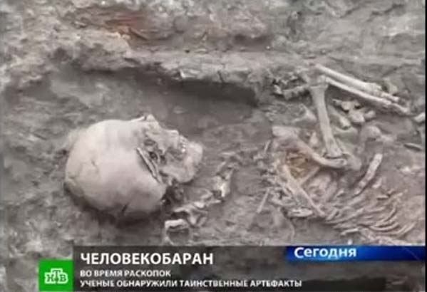 Une créature mi-homme, mi-mouton découverte en Crimée