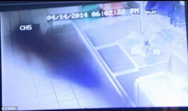 Dossier Spécial n°24 : Un fantôme filmé dans un restaurant dans l'Iowa