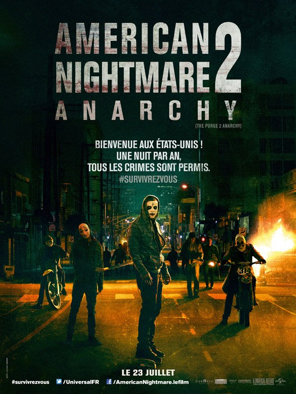 Bande Annonce American Nightmare 2 : Anarchy