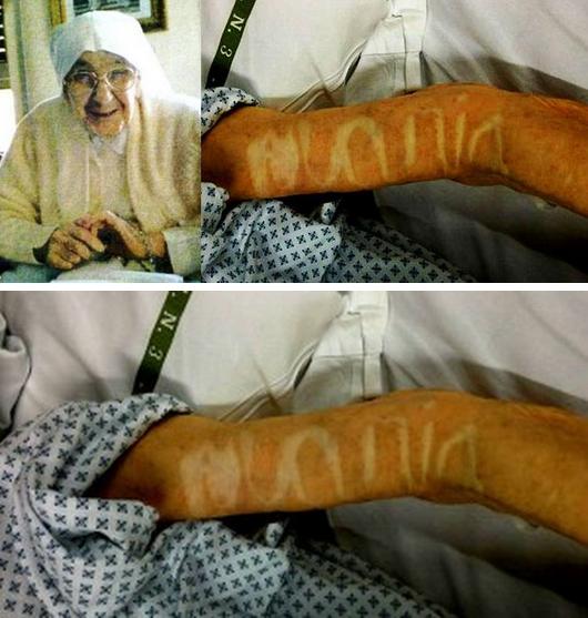 Dossier Spécial n°26 : Après sa mort, un mot divin apparaît sur son bras