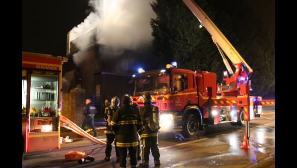 La maison la plus hantée du Nord de la France incendiée