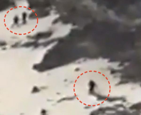 Plusieurs êtres surnaturels filmés sur le Popocatepetl