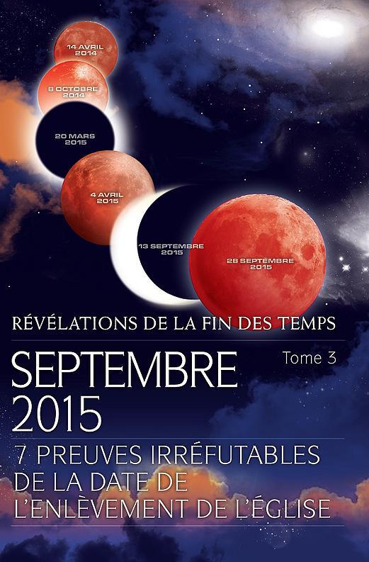 L'Apocalypse débutera en septembre 2015 selon un auteur ( 600 ème article ) !