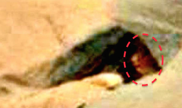Un alien caché dans une grotte découvert sur Mars ?