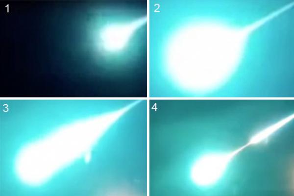 Un OVNI très lumineux filmé à Tchita, en Russie
