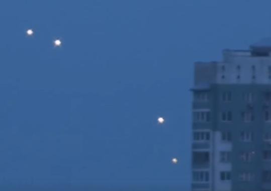Biélorussie : une multitude d'OVNI filmés à Minsk