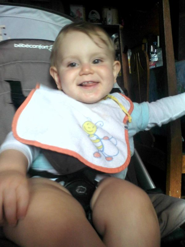 mon bebe d'amour a eu 1 ans