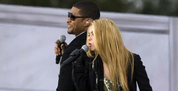 Usher a collaboré avec Shakira !