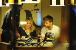 Shakira dans un restaurant à Madrid – Photos