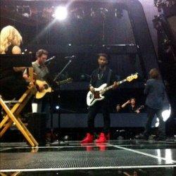 Shakira dans les coulisses des auditions de « The Voice » – Photo