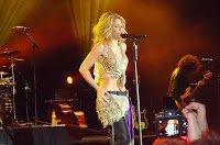 Nouvelles photos : Shakira en show case pour Sony à Johannesbourg , Afrique du Sud (2010)