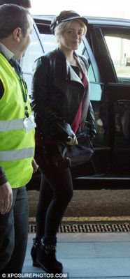 Shakira à l'aéroport de Barcelone – Photos
