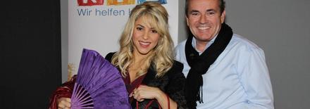 Shakira au téléthon de RTL Allemagne