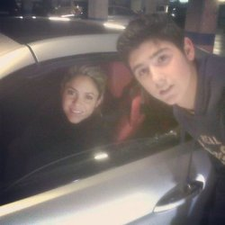 Shakira au Camp Nou – Photo
