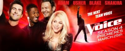 Photo promotionnelle pour la saison 4 de « The Voice »
