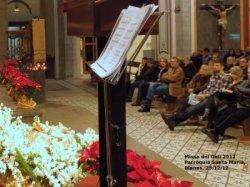 Shakira célébrant la messe de Noël – Photos