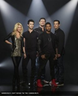 "Nouvelle photo promotionnelle pour ""The Voice"""