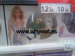 Nouveau parfum: S by Shakira Aquamarine !