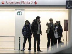 Shakira dans un centre médical à Barcelone – Photos