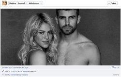 1 million de « J'aime » pour Shakira et Piqué !
