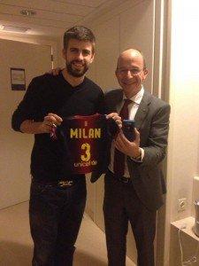 Milan Piqué Mebarak : Déjà associé du FC Barcelona !