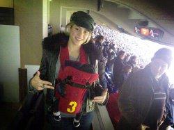 Shakira et Milan au Camp Nou !