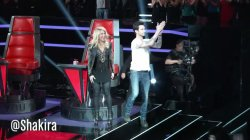 D'autres captures d'écran de Shakira (The Voice)