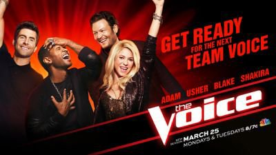 Nouvelle image promotionnelle pour « The Voice »