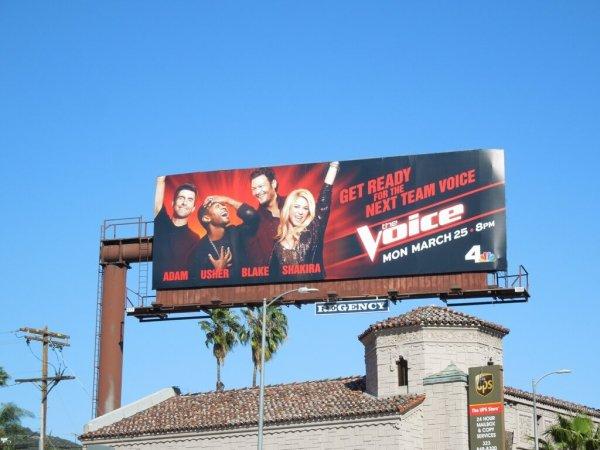 Nouvelle publicité pour The Voice !
