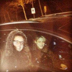 Shakira sortant du stade de Barcelone !