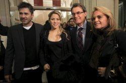 Photos professionnelles de Shakira à l'exposition de Jaume de Laiguana