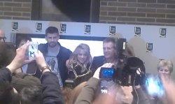 Shakira à la présentation du livre de Joan Piqué - Barcelone (14/03/13)