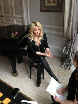 Shakira dans « 50 mn inside »