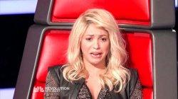 Shakira et ses grimaces (The Voice)