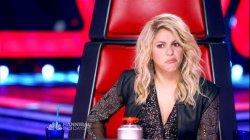 Shakira et ses grimaces 02 (The Voice)