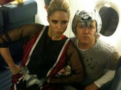 Nouvelle photo de Shakira et Tim Mitchell fêtant Halloween