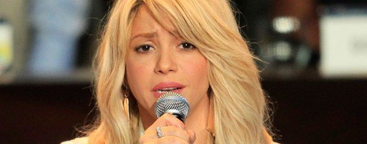 Shakira soutient les habitants de Boston !