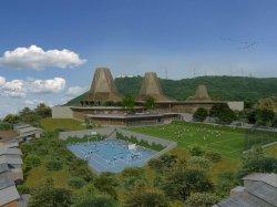 Photo du futur collège à Cartagène (Colombie)