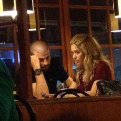Shakira de sortie au restaurant à Barcelone