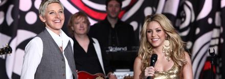 Shakira chez Ellen DeGeneres le 10 mai