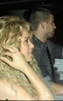 Shakira et Gérard aperçus à Beverly Hills