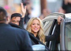 Shakira au Jimmy Kimmel Show