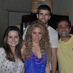 Shakira et Gérard dans le restaurant Moranga !