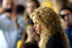 Shakira à la finale Brésil / Espagne