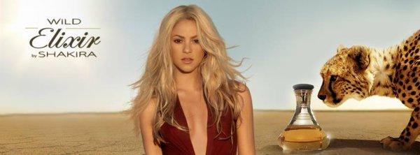Publicités pour « Wild Elixir by Shakira » !