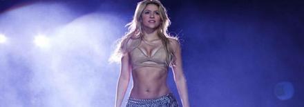 Shakira au festival international de Carthage 2014 ?