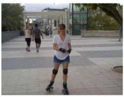 Shakira faisant du roller le 10 septembre – Photo